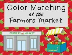 This adapted book is meant to be used when wanting to reinforce skills related to colors, vegetables, and fruits. Your students can pretend they are shopping at the Famers Market and purchasing the different items in an interactive way. The pages have visuals along with the context clues from the text to help the student identify the correct answer.