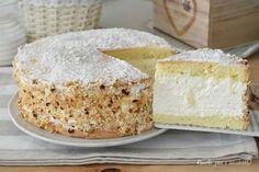 La Torta al latte Paradiso e' una dei dolci piu' buoni e cremosi mai visti, molto fresca e facile da fare perfetta per ogni occasione