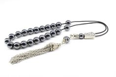 Hematite Gemstone, Komboloi, Metal Tassel, Worry Beads, Greek Komboloi, Made in Greece, Relaxation, Gift for Men, Stress Relief, Tesbih #Komboloi #HematiteGemstone #HematiteKomboloi #GreekWorryBeads #GreekKomboloi #WorryBeads #Hematite #FatherGift #BirthdayGiftMen #HematiteStone Blood Red Color, Paper Tape, Bracelet Sizes, Gifts For Father, How To Make Beads, Stress Relief, Gemstone Beads, Tassel, Greece