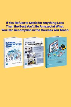 Bovee and Thill's business communication textbooks are the world's leading texts in the field. Business Essentials, Career Success, Textbook, Texts, Communication, Teaching, Gallery, Roof Rack, Education