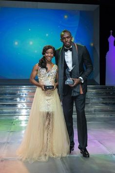 Usain Bolt and Shelly-Ann Fraser-Pryce again triumphed at the World… Sports Celebrities, Black Celebrities, Black Love, Beautiful Black Women, Usain Bolt Photos, Shelly Ann Fraser, Jamaican People, Jamaica Jamaica, Diy Home