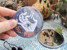 Miroir Miroir Magique... de Poche Miroir de poche un peu | Etsy