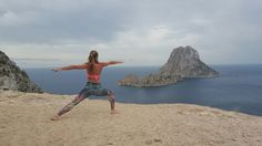 Beautiful es vedra in Ibiza! Strong in the Power of the magnetic energie from this island! #vira2 #warrior2 #yoga #yogi #yogateacher #yogapose