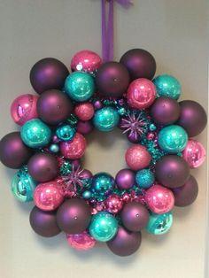 Kerstballenkrans