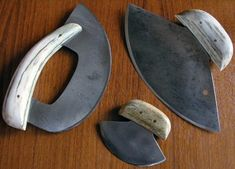 Maynard Linder Ulus - The Ulu Knife Traditional working knives of the North - ARCHIVES: Outdoors-Magazine.com