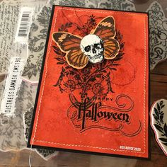 Halloween Items, Halloween Cards, Art Education Projects, Stampers Anonymous, Architecture Quotes, Landscape Quilts, Oragami, Travel Humor, Mail Art