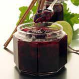 Svart vinbärssylt med päron och kanel - Recept Swedish Recipes, Preserves, Lemonade, Mousse, Barware, Harvest, Coffee Maker, Frozen, Pudding