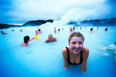 The Blue Lagoon geothermal spa is one of the most visited attractions in Iceland. The spa is located in a lava field in Grindavík on the Reykjanes Peninsula, southwestern Iceland. Jorge Martinez, Blue Lagoon, Countries Of The World, Hot Springs, Memorial Day, Travel Destinations, Places To Visit, Around The Worlds, Photoshop