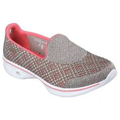 a391ff77cef Skechers GOwalk 4 - Kindle 14145 vrijetijdsschoenen dames taupe coral De  Wit Schijndel