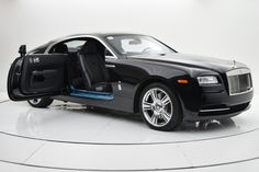 New 2015 Rolls-Royce Wraith Stock # in Palmyra, NJ at F. Kerbeck Rolls-Royce, NJ's premier pre-owned luxury car dealership. Come test drive a Rolls-Royce today! Rolls Royce Wraith, Rolls Royce Phantom, My Dream Car, Dream Cars, Posh Cars, Luxury Car Dealership, Future Car, Luxury Cars, Super Cars