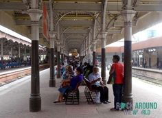 Bahnhof in Colombo, Sri Lanka