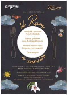 Stasera al ristorante Borsari 36 ci sarà una serata speciale: Il rum è Servito. Ron Zacapa e la creatività di Chef Carmine Calò per un incontro all'insegna del gusto.  #Borsari36 #verona #veneto