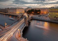 Lomonosov Bridge, Saint Petersburg, Russia by Ilya Shtrom on 500px