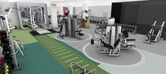 boxing gym interior design - Pesquisa do Google                                                                                                                                                                                 More