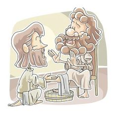Lesson Title: Jesus Washes the Disciples Feet Bible Reference: John Target Age Group: Preschool Learning Context: Children's Church Target Time Frame: 1 ½ hour Gospel Connection: In John c… Free Sunday School Lessons, Sunday School Games, Bible Lessons For Kids, Bible For Kids, Preschool Lessons, Preschool Learning, Bible Illustrations, Kids Church, Church Ideas