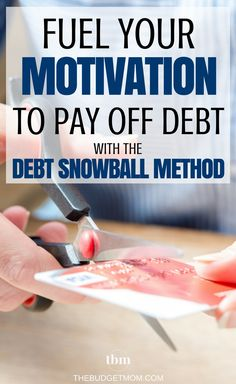 Sometimes you need quick wins to fuel your motivation to pay off debt. Personal Finance | Debt | How To | Calculator | Motivation via @thebudgetmom