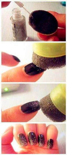 Warm Tips: Please note that due to lighting effect and computer color, the actual colors may be slightly different from the pictures Brand: CLAVUZ Color:Neon bling series gel polish,please paint all c. Nail Art Diy, Diy Nails, Mani Pedi, Shop Signs, Nail Arts, Hair And Nails, Beauty Hacks, Nail Designs, Nail Polish