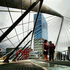 Zubizuri, Calatrava, Bilbao @montseguí