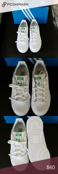 Adidas Stan Smith NIB; Size 3.5 kids fits women 5.5 usually but these fit closer to a 6. adidas Shoes Sneakers