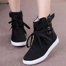 Botas de moda de otoño de las Nuevas mujeres de las mujeres zapatos de la Bota…