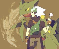 Brendan and Sceptile Pokemon Silver, Sapphire Pokemon, Pokemon Emerald, Black Pokemon, Pokemon Fan Art, Cute Pokemon, Pokemon Stuff, Game Boy, Mudkip