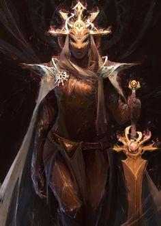 Sun Knight – fantasy character concept by Jason Nguyen Fantasy Character Design, Character Design Inspiration, Character Concept, Character Art, Fantasy Armor, Medieval Fantasy, Dark Fantasy Art, Concept Art World, Fantasy Inspiration