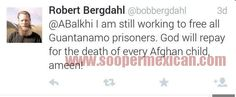 Father of American Soldier Freed From Taliban Deletes a Very Disturbing Tweet