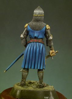 Sir John of Creek 54 mm Series Medieval Knights. Medieval Knight, Samurai, Miniatures, Europe, Art, Art Background, Kunst, Mini Things, Performing Arts