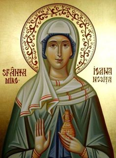 St. Joanna the Myrrhbearer, disciple of Christ, provider to the apostles, wife of Chuza