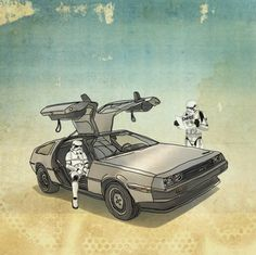 Star Wars x Back to the Future