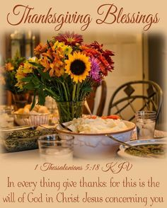 Thanksgiving Blessings, Thanksgiving Cards, Give Thanks, Special Occasion, Table Settings, Blessed, Table Decorations, Night Quotes, Holidays