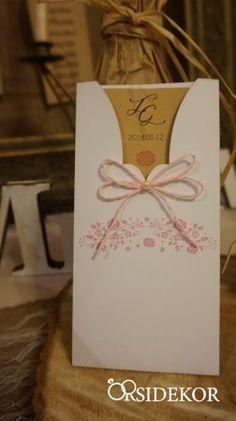 Borítékos esküvői meghívó Place Cards, Place Card Holders