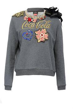 Pinko Sweatshirt with appliqué details