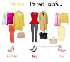 The Color Pairing Series: YELLOW - Jalisa's Fashion Files