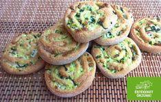Vacsora tekercs - Paleo totus zöldfűszeres sós péksütemény (gluténmentes, tejmentes, szénhidrátszegény)