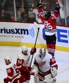 """""""I live for the APPLAUSE, APPLAUSE, APPLAUSE!!!"""" Photos: Blackhawks' goals in the playoffs -- Chicago Tribune- #Shawzer"""