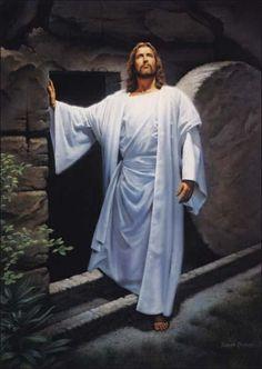 Jesús saliendo del sepulcro