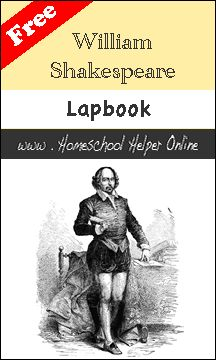 William Shakespeare has written many works that influence our literature and culture still today.  Learn about his life, his writings, and his legacy in this free William Shakespeare lapbook. How to Fold a Lapbook Library List: William Shakespeare Complete Works by William Shakespeare William Shakespeare: His Life and Times by Kristen McDermott The Shakespeare Stealer …