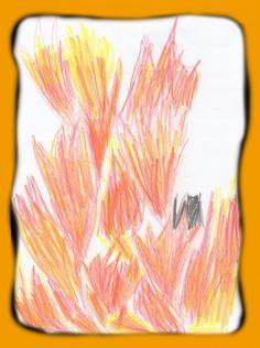 flamme feu dessin - Recherche Google