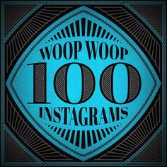 Thought I'd have a little fun and commemorate my 100th post on Instagram.  woop woop!  #100 #illustrator #graphicdesign #graphic #design #vector #vectorart #100th #patterns #borders #crosshatch