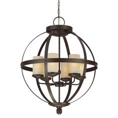 South Shore Decorating: Sea Gull Lighting 3190406-715 Sfera 100W Incand. Transitional Chandelier SG-3190406-715