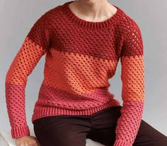 We all have a couple of sweaters that don't fit anymore. Why not undo them and use the yarn to crochet new ones? This cute crochet jumper is just the perfect crochet pattern as it's designed in color blocks so it's really easy to combine whatever colors you have on hands. Colour Block Jumper by …