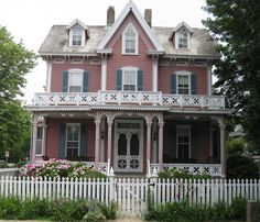 Cape May victorian home. via Flickr