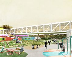 Gallery of OMA Designs Food Port for West Louisville - 4