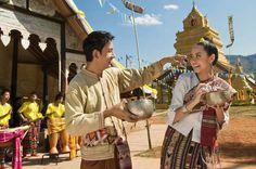 Songkran Festival (Thai Lunar New Year), Thailand