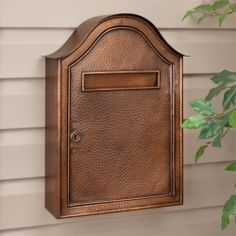 Blink Shadowbox Maple Leaf Vertical Wall Mount Mailbox In White And By  Blink Manufacturing. $145.00 | Home   Security Mailboxes | Pinterest | Wall  Mount ...