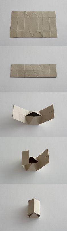 Rokkaku hexagon house gift box origata 折形デザイン研究所 | 商品 / 家ろっかく.