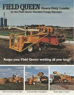 FIELD QUEEN Loader Ad for FIELD QUEEN Choppers