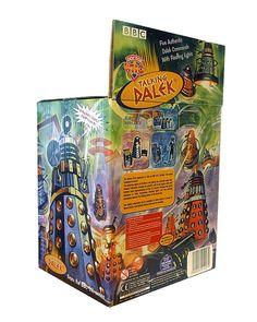 Product Enterprise Dalek packaging 3, via Flickr.
