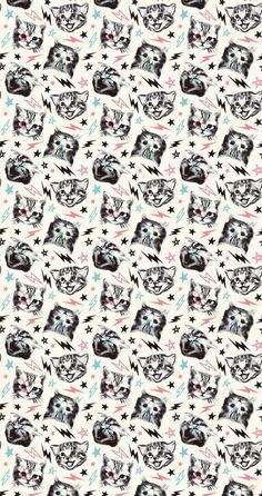 Sheena punk rocker #pattern